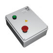 QK-CE220RL Control board in IP55 Enclsure with Built-in Command Pushbuttons