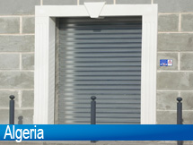 Roller SHutter Installed at Algeria