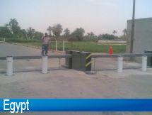 Automatic Parking System Bollard Egypt