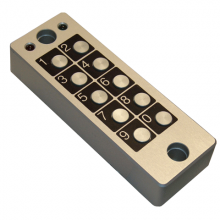 QK-TXTFM and QK-KEYF: the new range of QUIKO anti-vandal keypads